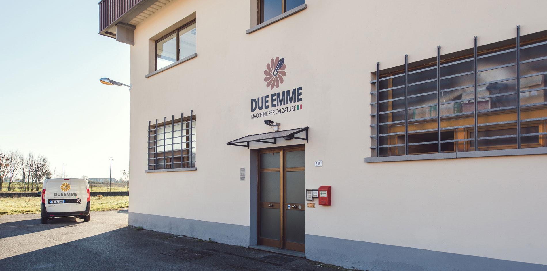 Fronte dell'edificio di Due Emme Srl.