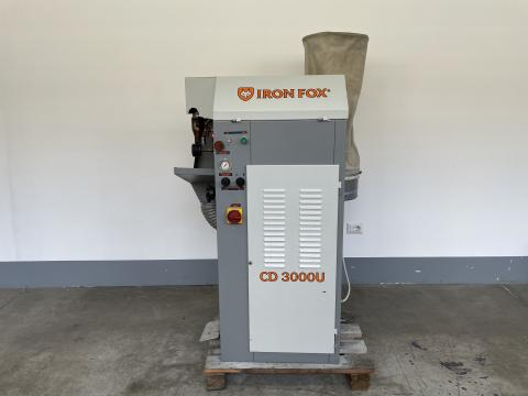 CARDATRICE IRON FOX CD 3000 U MATR. 400298 - SOLE ROUGHING MACHINE IRON FOX CD 3000 U
